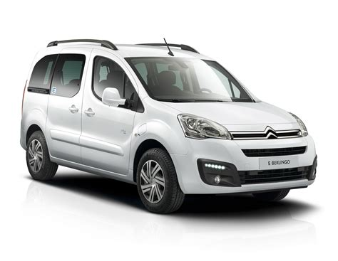 Citroen Berlingo Multispace by Citroen Reveals Fully Electric Berlingo Multispace With