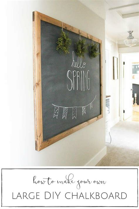 chalkboard diy beyond the picket fence talk of the town link