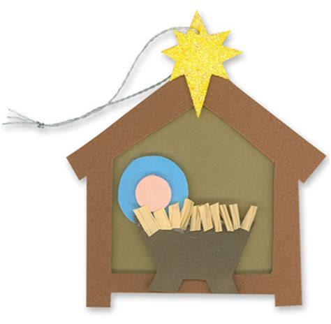 nativity craft for religious crafts