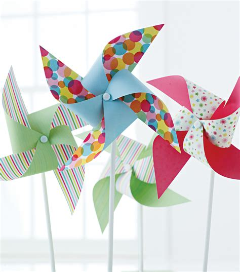 pinwheel craft for martha stewart crafts pinwheel kit 6pk modern festive