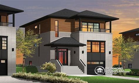 houses for narrow lots narrow lot homes with porches contemporary narrow lot house plans modern house plans for narrow
