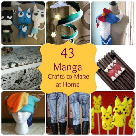 easy crafts for to make at home big diy ideas 43 simple anime crafts to make at home