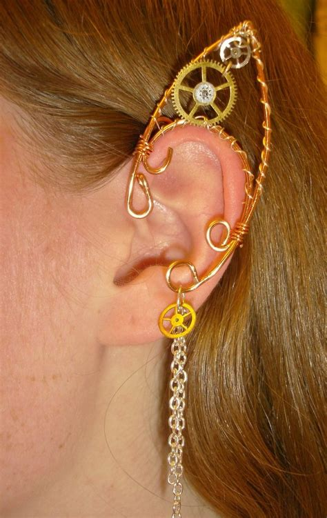 how to make ear cuffs jewelry steunk ear cuff by nonconformity777 on deviantart