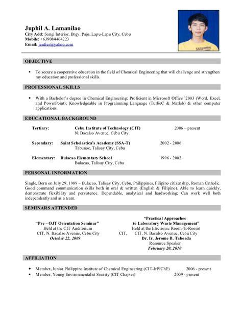 resume exaples resume sample 10 resume cv