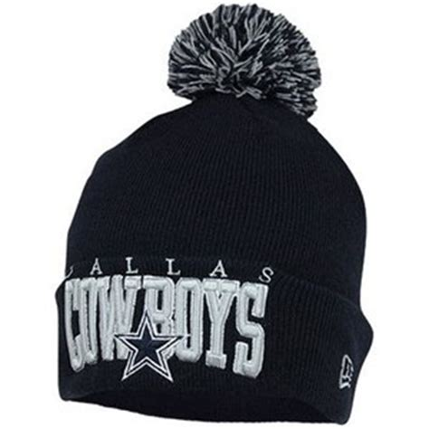 cowboys knit beanie new era dallas cowboys arch cuffed knit beanie navy blue