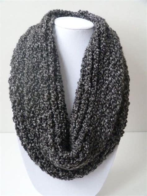 scarf knitting loom loom knit infinity scarf no wrap