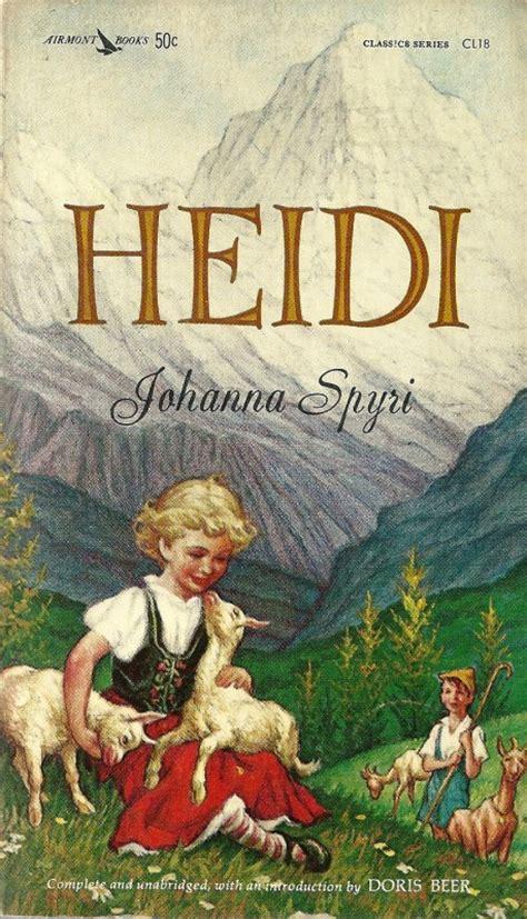 heidi picture book heidi a book review youngzine
