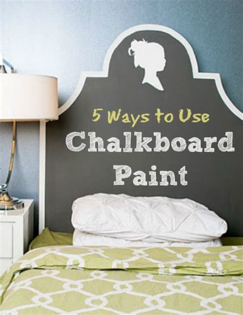 chalkboard paint usage 5 ways to use chalkboard paint infarrantly creative