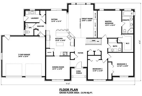 canadian bungalow floor plans canadian home designs custom house plans stock house