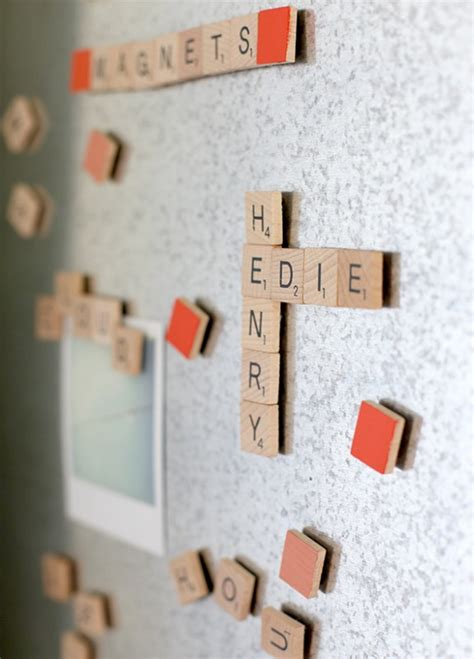 make scrabble how to make scrabble magnets say yes