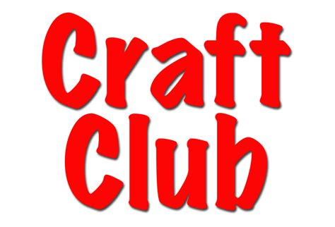 craft club for ministries your local lillington church