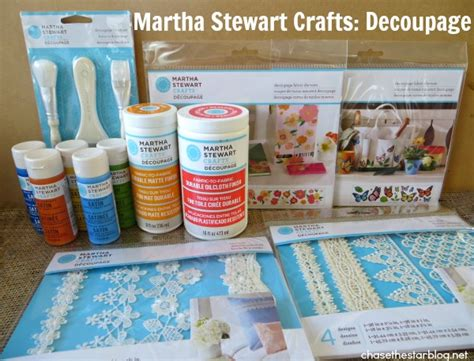 martha stewart decoupage update a tote bag with martha stewart decoupage