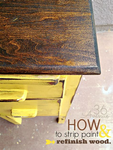 stripping paint from woodwork how to paint and refinish wood the 36th avenue