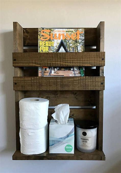 bathroom magazine storage best 25 rustic magazine racks ideas on