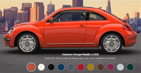 Volkswagen Colors by 2017 Volkswagen Beetle Exterior Color Options