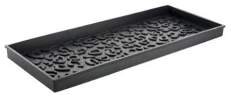 rubber st storage cheetah rubber boot tray contemporary shoe storage