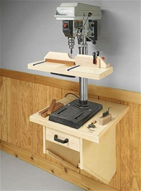 drill press table woodworking plans wall mounted drill press table woodsmith plans