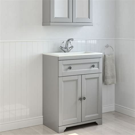 freestanding sink bathroom storage bathroom cabinets furniture bathroom storage diy at b q