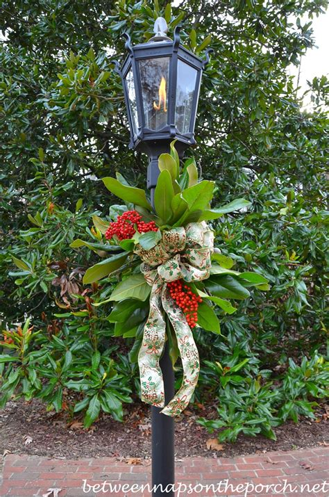 post decorating decorate a lantern for with fresh greenery
