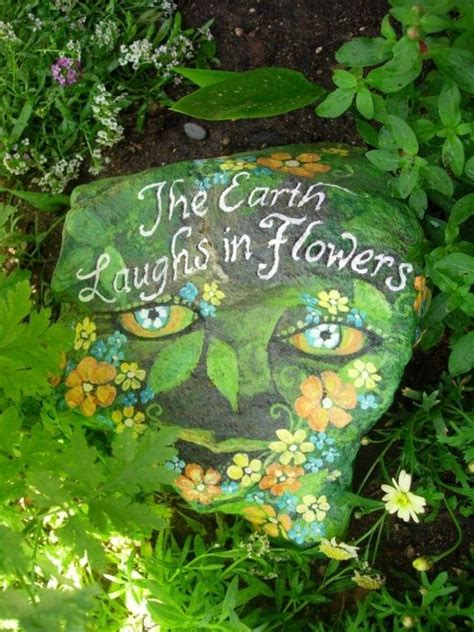 painting rocks for garden 562 best words on stones images on rock
