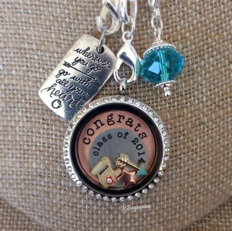 origami owl graduation locket 1000 images about graduation gifts school spirit
