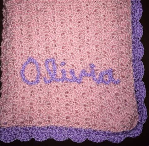 size of baby blanket for crib pink and purple baby blanket crib size personalization