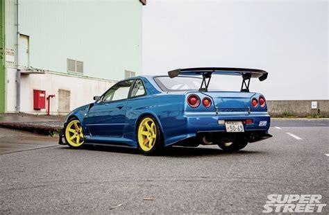 Wallpaper Car Nissan Skyline Gtr by 999 Nissan Skyline Gtr Blue Modified Cars Wallpaper