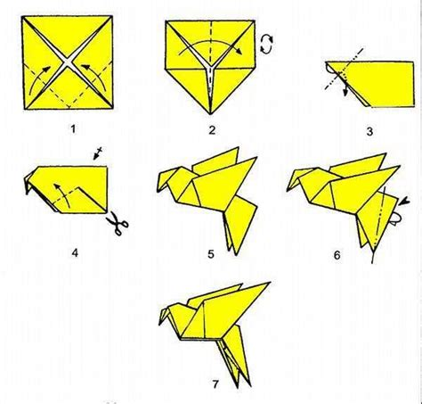 how to make a origami easy step by step best 25 origami birds ideas on diy origami