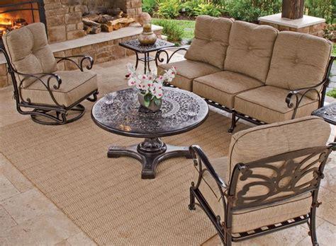 solid cast aluminum patio furniture best 25 cast aluminum patio furniture ideas on