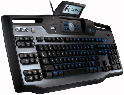 Logitech launches G15 Keyboard for gamers with LCD display