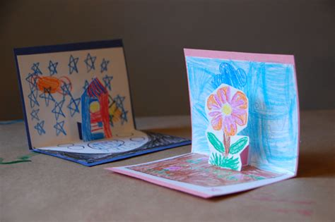 up cards how to make pop up cards tinkerlab