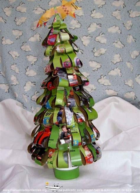hacer arbol de navidad 193 rbol de navidad reciclado manualidades infantiles