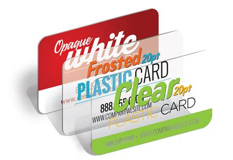 how to make plastic cards plastic business cards