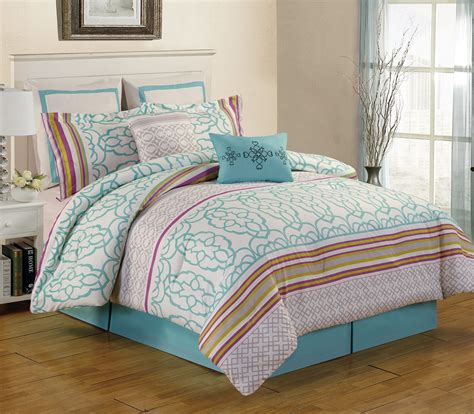 teal comforters sets 8 arvada teal comforter set