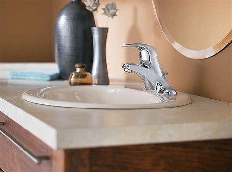installing new bathroom vanity installing a new bathroom faucet in a new vanity top