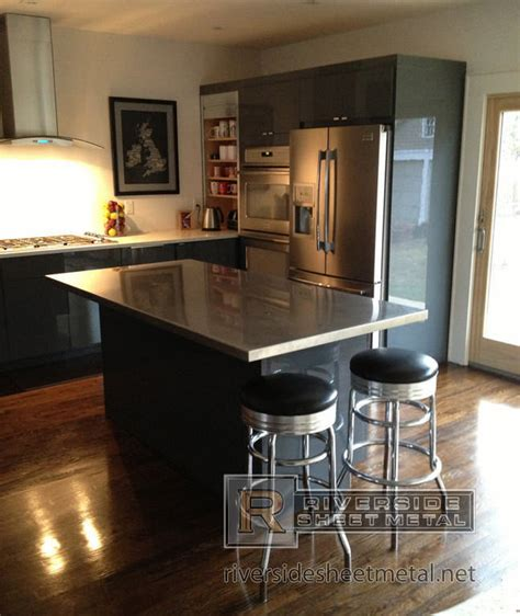 kitchen islands with stainless steel tops stainless kitchen island home design and decor reviews