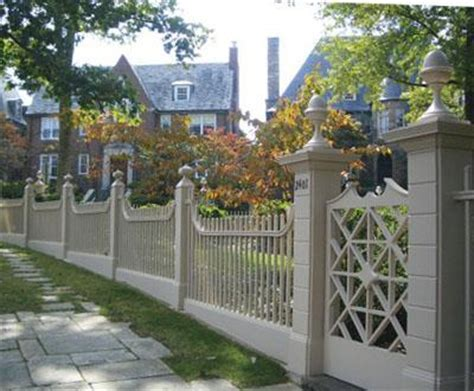 walpole woodworks historic linden house fence view 2 wood solid cellular