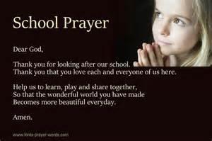 prayer for opening prayer before class opening prayers