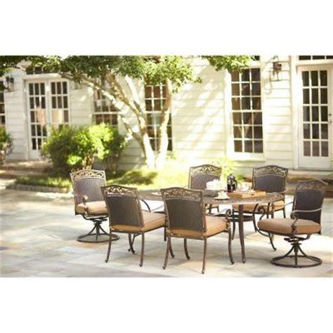martha stewart patio dining set martha stewart living miramar ii 7 patio dining set