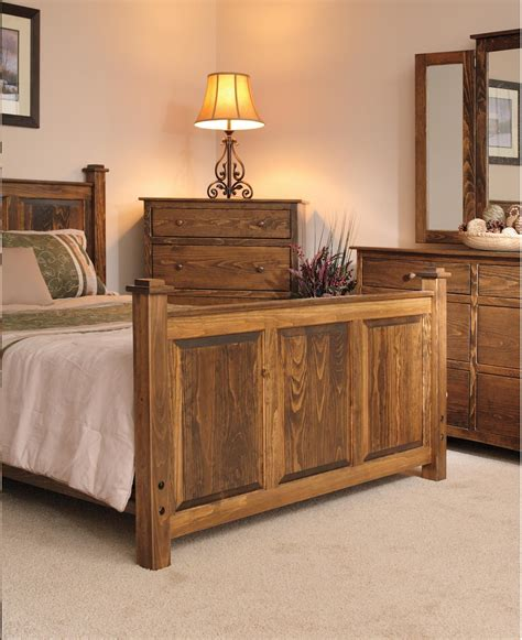 Shaker Bedroom Furniture Pine Wood Shaker Bedroom Set From Dutchcrafters Amish