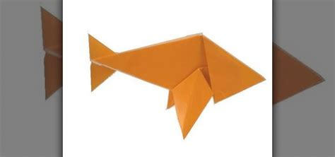 paper origami how to fold an easy origami paper fish 171 origami