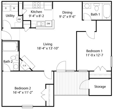 glade creek roanoke va apartments floor plans and