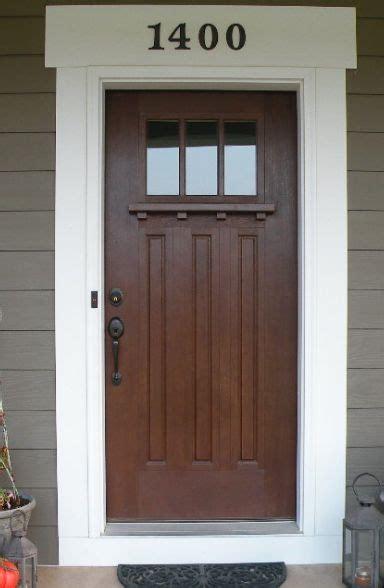how to trim an exterior door best 25 craftsman door ideas on craftsman