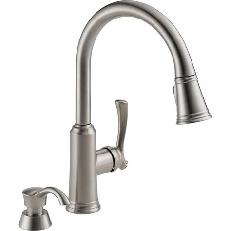 home depot delta kitchen faucet delta single handle kitchen faucet home depot delta