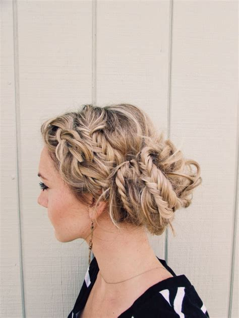 braids and how to cool hairstyles with braid and fishtail