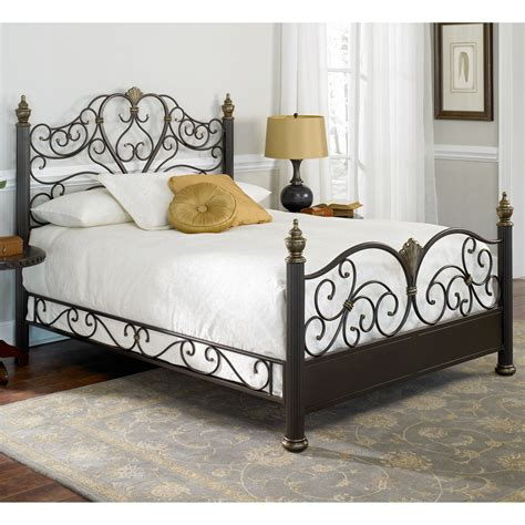 iron bed frame king details about ikea wrought iron king size bed frame bed