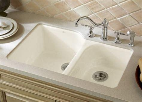 undermount kitchen sinks k 5931 4u 96 kohler executive chef cast iron bowl