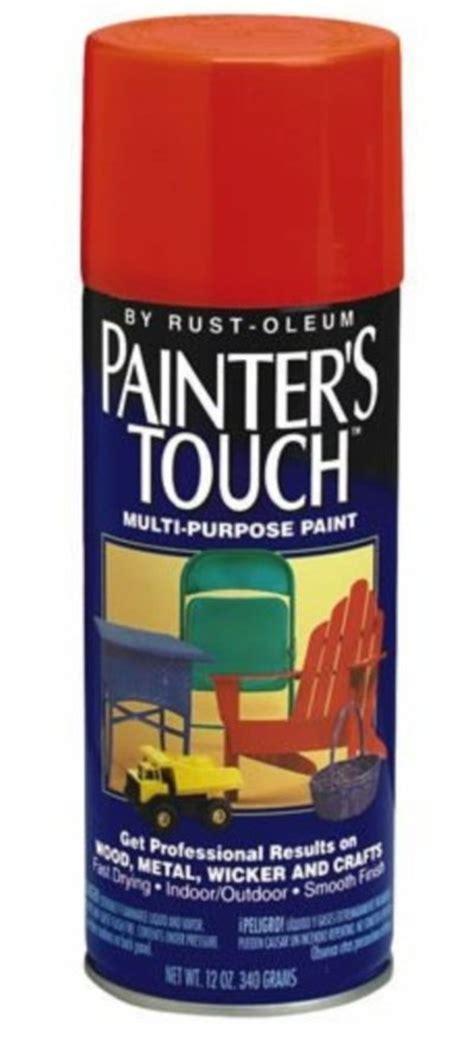 spray painters touch rust oleum 1976830 flat black painter s touch multi purp
