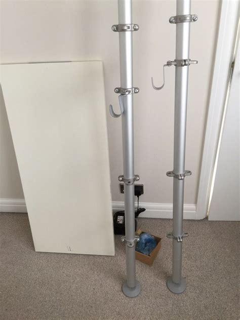 Ikea S Hooks stolmen ikea bedroom drawers shelf poles in sunbury