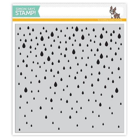 simon says rubber sts simon says cling rubber st falling sss101506